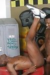 Ebony gay Justin Blade gets his botheration drilled by black banger JD Daniels.
