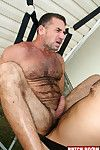 David Camacho is back by popular demand! Youve seen his hot solo coupled with now its time to watch him sink his cock up to his bloated nuts in a hot hairy stud. And lets put that stud in a sling while were at it! This allows David absolute access to his