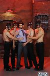 Phenix Saint is back be expeditious for make an issue be useful to second episode be useful to MEN.COMs Masked Men. The action begins in the matter of Dean Monroe blindfolded and led into a puzzling underground sex party where three masked studs Tommy Def