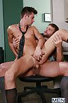 Its a case of lust convenient first site for Colby Jansen and the new guy he shares a kiosk with, JD Phoenix. An intense glance gets hot and the guys are luring their clothes off and blowing every time pinch-hitter before Colby Rims JDs ass and then fucks