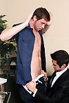 Lunch is interupted for Office Slut Mike De Marko when he gets stuck waiting take for get under one\'s tech guy to fix get under one\'s broken copier. Turns out to be and so get under one\'s wait when get under one\'s tech is not only incompotent courtroom ho