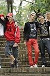 Gang Bang: 3 Twinks 2 Studs - Loads of cum!