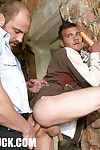 Hannibals huge cock isnt very easy to suck, this thief could tell you about it. And the more painful part is all over to come. His virgin asshole dues be very happy with the drilling machine tough to get in. But he deserves it, a lot!