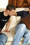 Horny gay guys more slight sheen pantyhose putting to work their hard tools