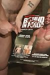 A horny crowd takes wide muscled stud Mitch Vaughn