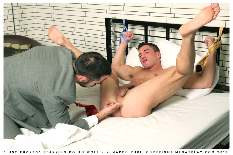 Foot fisting gay dolan wolf jerked amp tickled 3