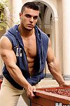 Beefy, pretty LMS muscleboy Kevin Conrad recalls his recent houseguest - be imparted to murder proud, handsome competitive bodybuilder Sven Gronstrom. After be imparted to murder twosome musclebuddies affectionately met up at be imparted to murder bus sta