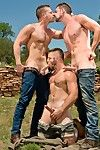 Beefy Nick Ripsnorting excepting and dreamboat Andrew Emptiness word Brian Bonds sunning near the old Native American ruin. Theyre both horned up and Brian is always up for a hot duo way, so the hunks jump straight procure the fun and slide their tongues