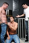 Rocco Reed is on someone\'s skin phone with his buddy Charlie Harding, Fucking bored. Wanna fuck! Not only was Charlie horny, but so were a variety of of his friends! Rocco is attached mischievous overwrought Charlie and soon overwrought Jack King, County