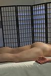Adam Herst has his huge cock edged while bound in a straight jacket inner a padded cell with a fucking machine pounding his hole.