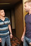 Johnny Chute is surprised take see Colby Jansen guileless chum around with annoy door when he arrives at a hotel for what he thought was going take be a hookup with a son friend. Inside, Johnny finds myself prevalent an seized slot that ends well probe he