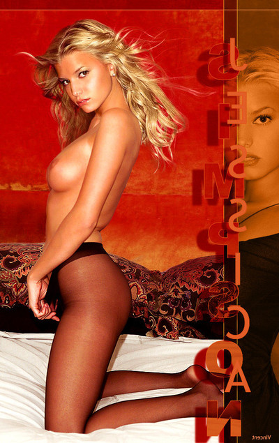 Jessica simpson getting drilled in imagination photos