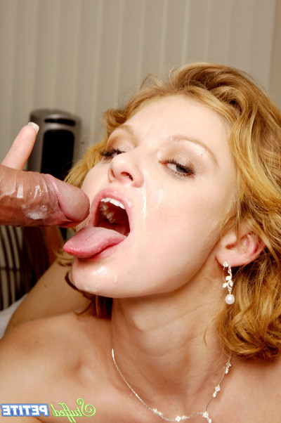 Excited miniscule lass emily evermore takes a weighty dick