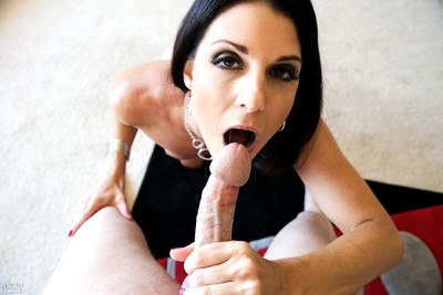 India summer getting loads of spearm on her face