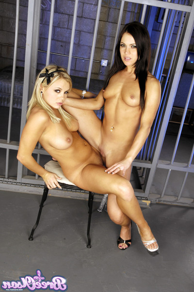 Bree olson and mandy greater extent hardcore hottie on hottie enjoyment