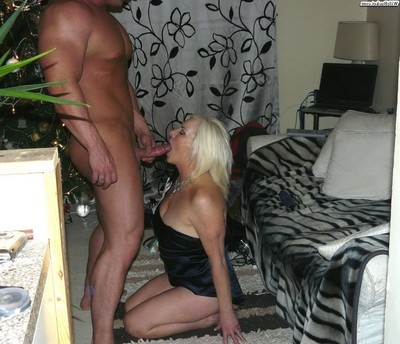 Teen wives giving blowjobs enjoy pros