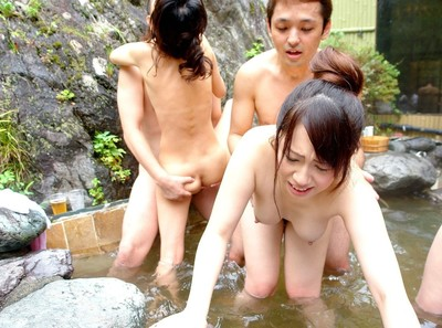 Eastern teenies penetrated rough in pool groupie