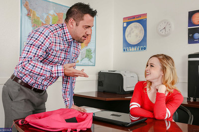 Coed advisor Alexia Gold attains bonked hardcore in the classroom