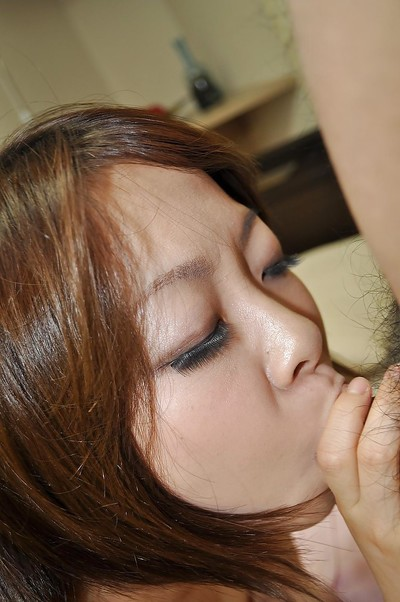 Japanese juvenile Chika Matsura purchases her shaggy snatch nailed and creampied