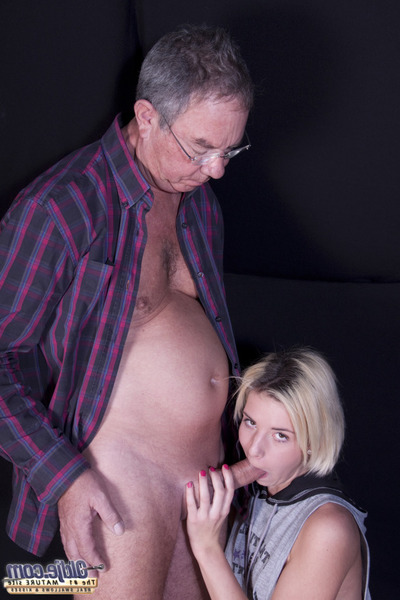 This chick lost her boy-friend and aspire sex. Fantastic how this girl copulates this old man here... this girl exceptionally copulates him. Shes only an angel, orally fixating and licking. This chick wishes his vast pecker subterranean in her ass, althou