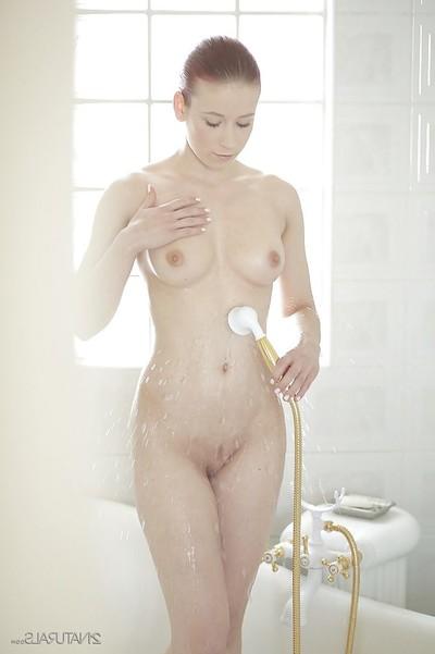 Adolescent chicito Minnie Hentai exposes her pornstar undersize mangos in close up