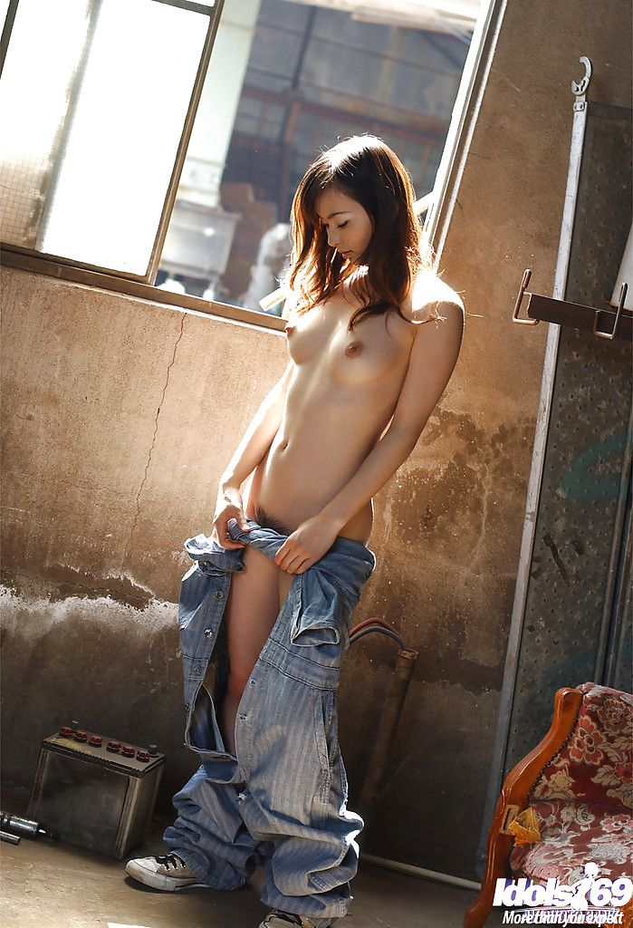 Stunning Japanese hottie Hikaru Koto invention her delightsome twists