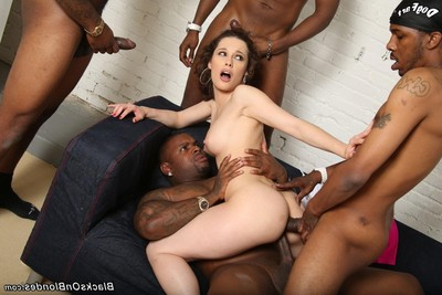 Nikita bellucci benefits from group-fucked