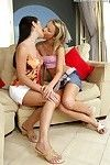 Juvenile lesbian hotties passage dual penis stimulator equally