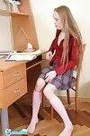Fascinating teenage year old schoolgirl