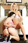 Bree olson and alexa von tess in hardcore threeway