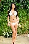 Naughty kim kardashian posing in bikini