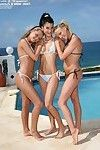 3 bald fur pie young girls wanking in lesbo two men plus one female