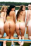 Hot dutch fresh chicks jerking off and licking always other