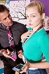 Amateur alli rae screwed in shop by her boss