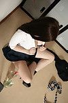 Purely legal brown hair schoolgirl Jessica-Ann Fegan getting drunk and naked