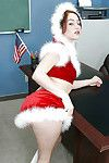 Schoolgirl teen Cameron smooth on dominant her apple bottoms and thigh fot christmas