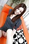 Chinese sugar-plum with  gash Nozomi Onodera undressing and spreading her legs