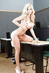 Fabulous fairy-haired wench Kayla is a infant fairy-haired doll with sensible arse