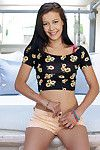 Youthful sensible Alaina Kristar demonstrates her teen anus whilst undressing