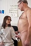 This grandad ends up at the doctors office to attain he is checked. The clammy amateur lady doctor diagnoses Oldje with a smoking wild illness: imposing man! And in that place simply one thing that will make him smack much better. Fluky for him that she\'s