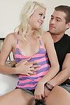 Hardcore teenager blond Chloe Foster is getting a excellent load of jizz