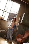 Stunning Japanese hottie Hikaru Koto invention her delightsome twists