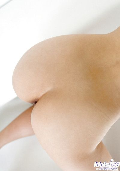 Seductive asian coddle Suzuka Ishikawa losing ground off her clothes