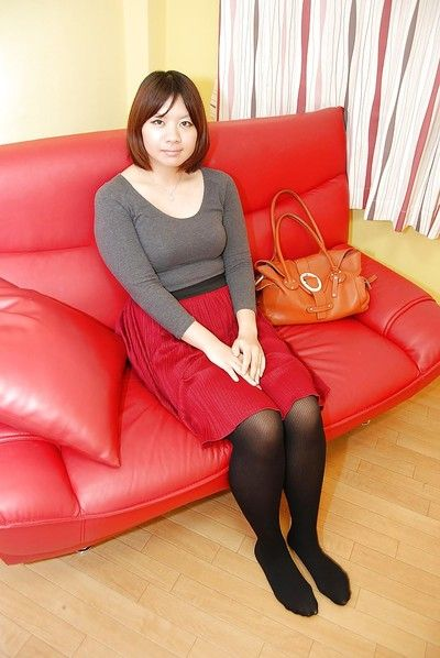 Save for upskirt chapter featuring Asian teen tot in pantyhose Harumi Okuno