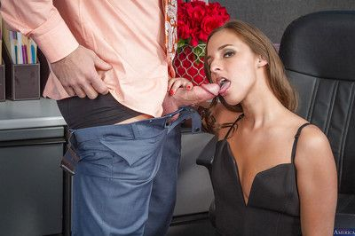 Office secretary Amirah Adara is obtaining this snappish but wide dick