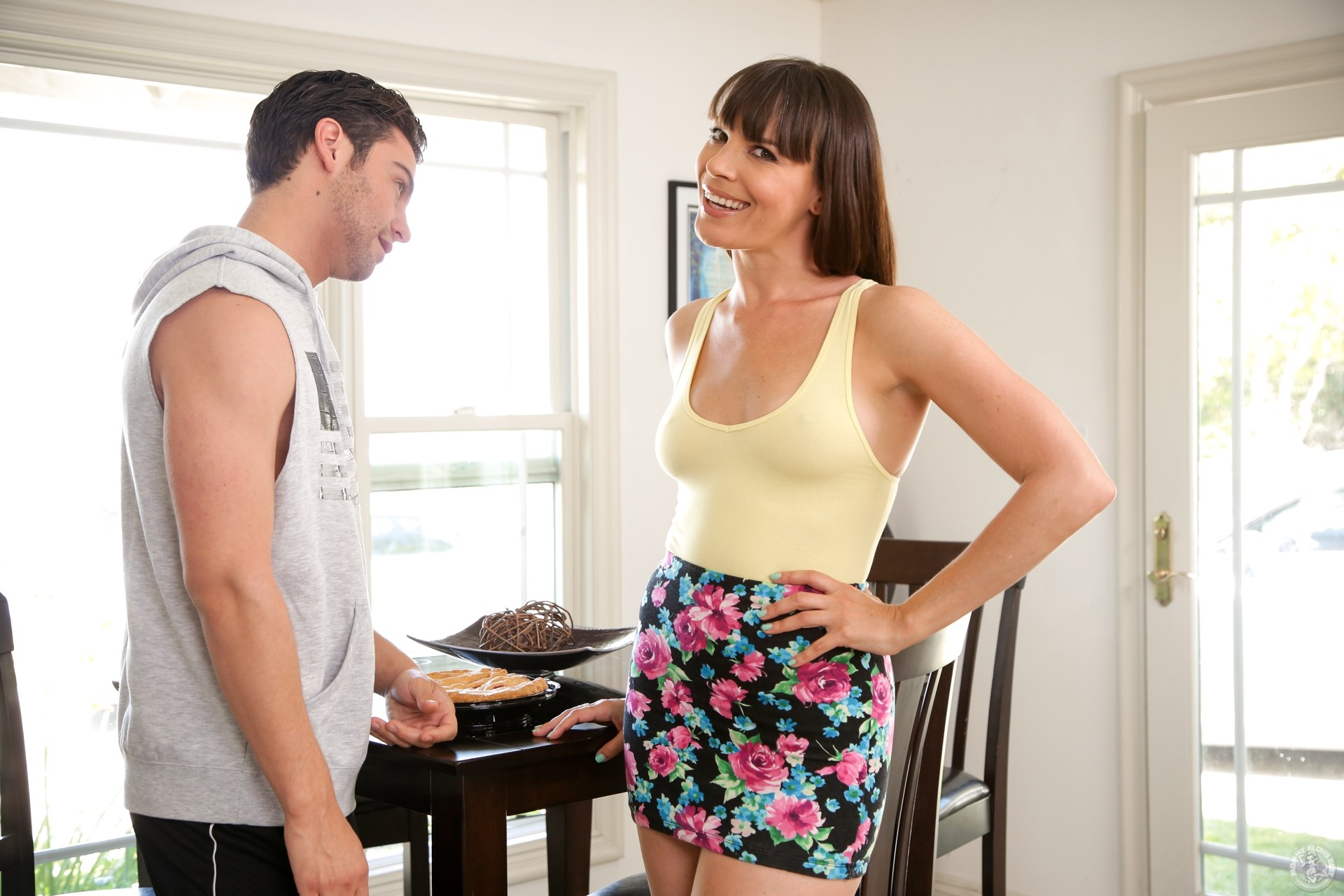 Dana dearmond getting loads of milky white spearm