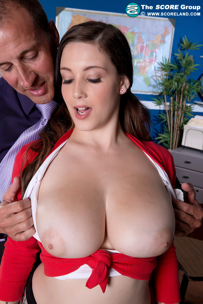 Coed fever with giant boobed noelle easton