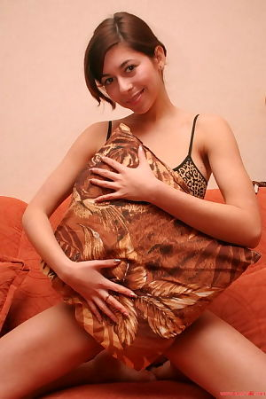 Infant youthful youthful broad in tiger underware