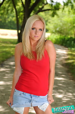 Juvenile hottie Britanny is a real blatant one - look at her take your clothes off in park