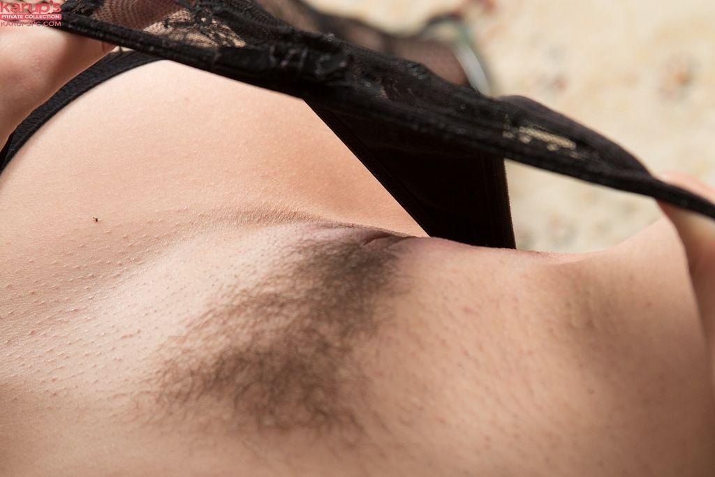 Euro juvenile Lara Jade Deene parts labia lips wide manageable in hot ebony